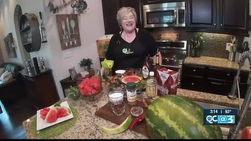 Chef Jill Shares 3 Ways To Serve Watermelon