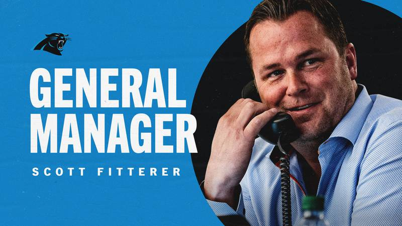 The Carolina Panthers have officially hired Scott Fitterer as their new general manager.