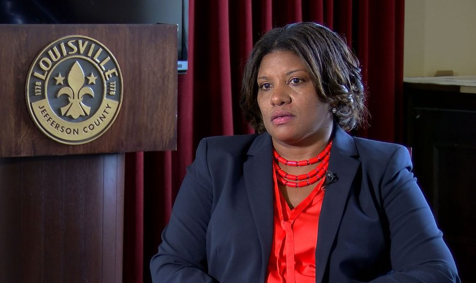 Yvette Gentry was named LMPD interim chief on Sept. 7, 2020.