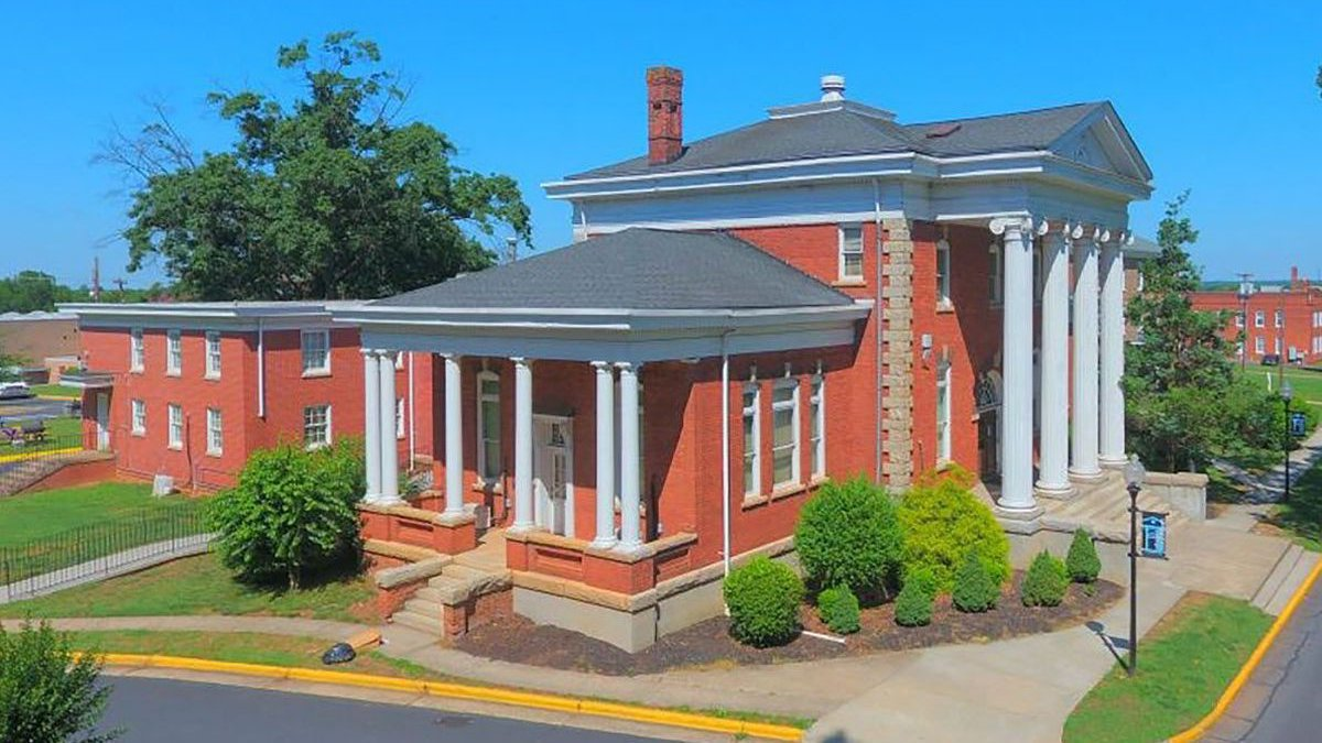 This federal grant will assist in Phase III of the rehabilitation of Carnegie Library on the...