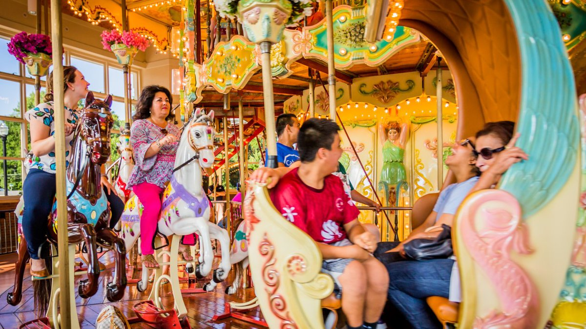 The carousel will be open from 10 a.m. – 7 p.m., every Saturday, and noon-6 p.m., every Sunday,...
