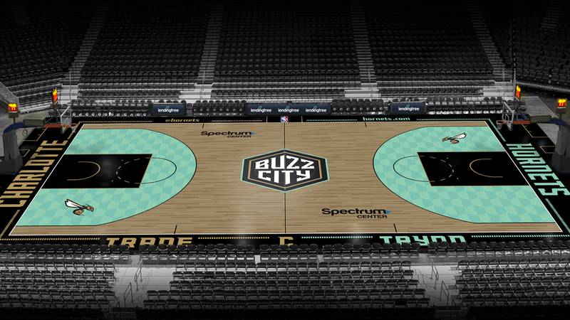 The Charlotte Hornets have unveiled a new City Edition court design.
