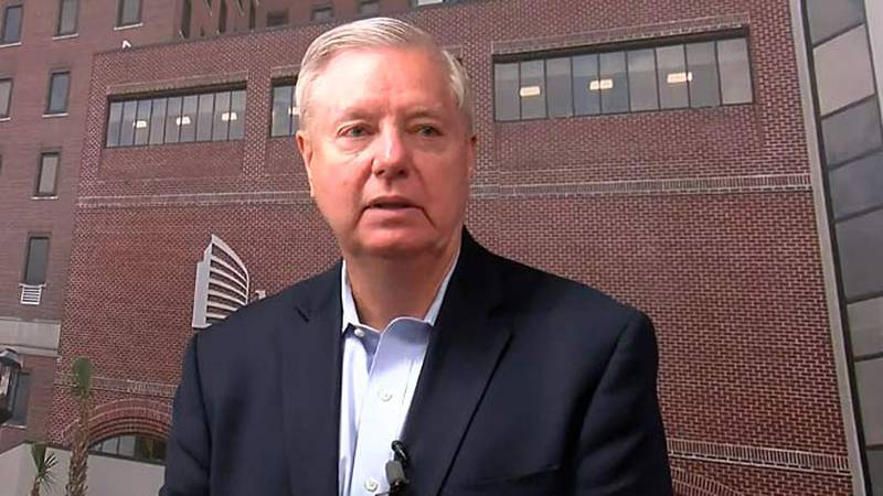 U.S. Sen. Lindsey Graham answered a question about his Sunday appearance on Fox News after...
