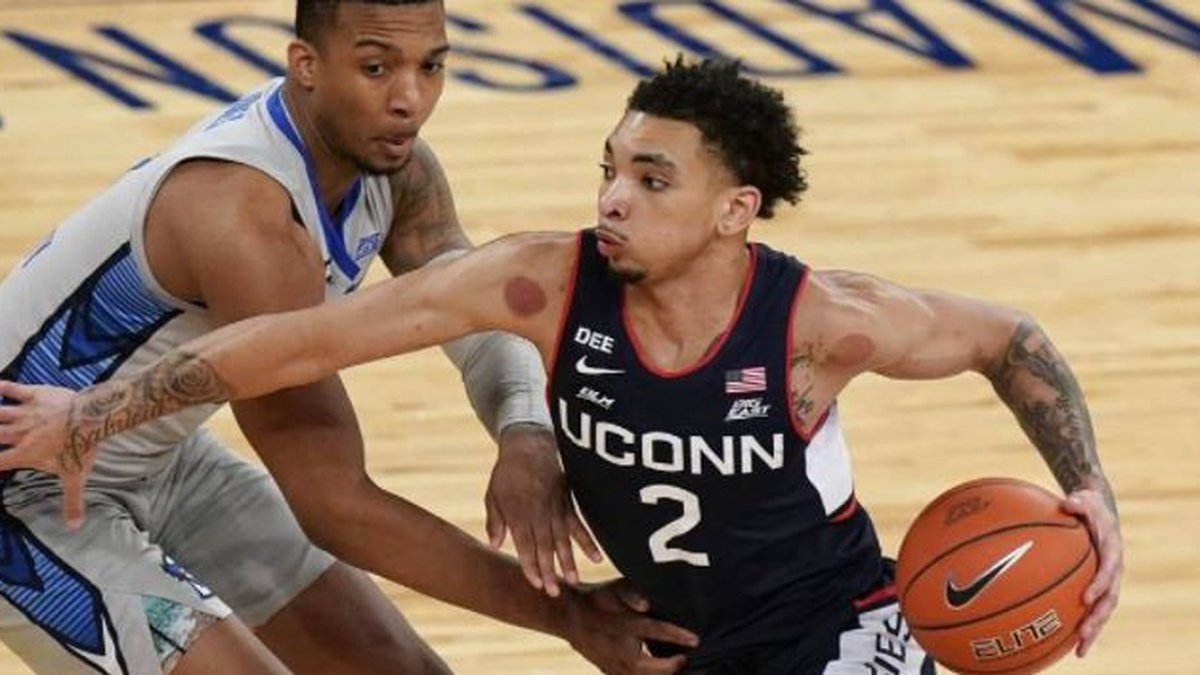 Hornets take UConn's James Bouknight in NBA draft's first round