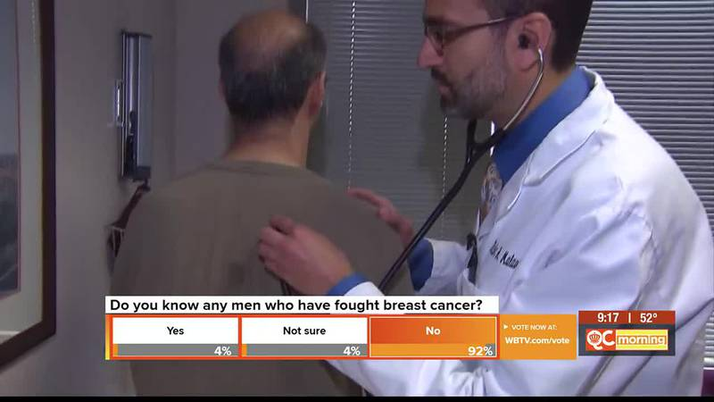 Breast cancer in men can happen. Here's what men should know