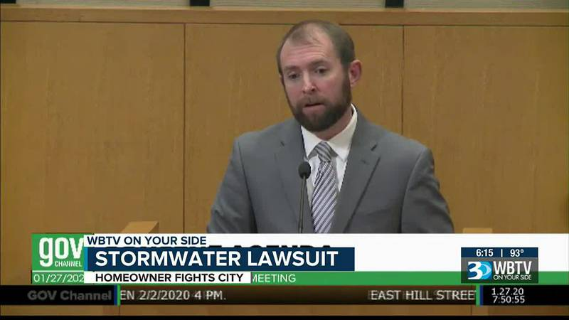 Stormwater lawsuit: Homeowner fights City of Charlotte