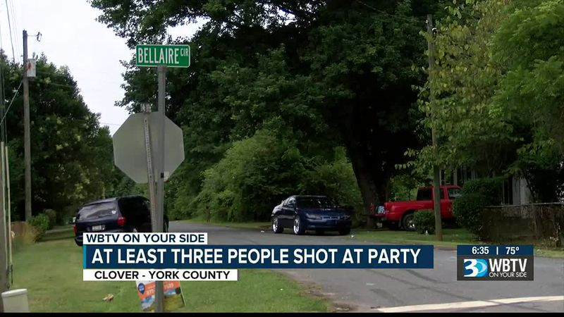 Multiple shot after Juneteenth event in Clover, S.C.