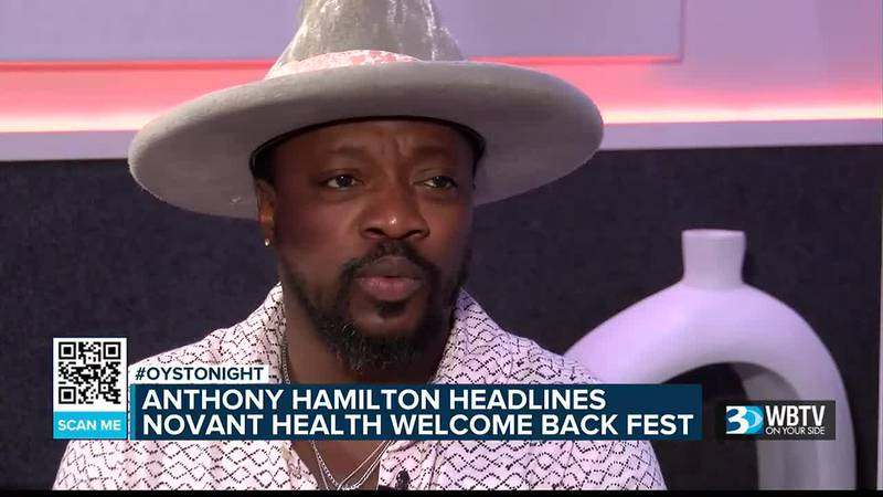 Anthony Hamilton talks new music, battle with COVID-19 ahead of festival in uptown Charlotte