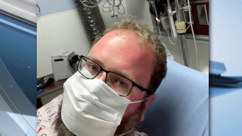Andy Smith's family said he was able to overcome the coronavirus under the care of Dr. Victor...