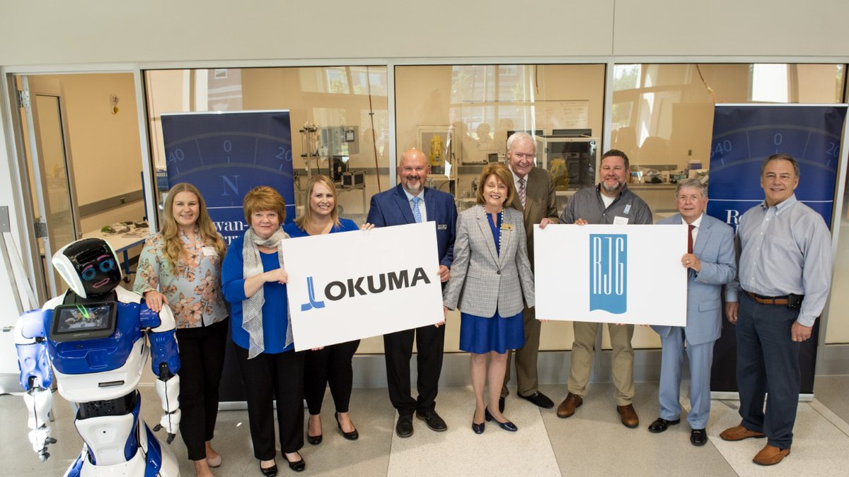 Okuma America Corporation and RJG Inc. will locate international and national training centers...