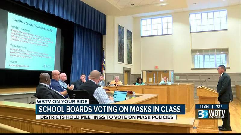 School boards voting on masks in class