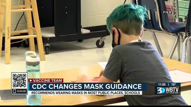 CDC changes mask guidance
