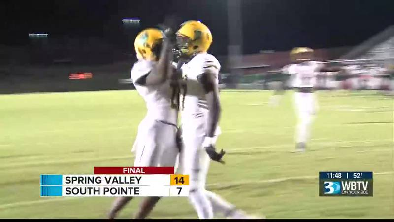 Spring Valley pulls the shocker on Friday as they defeated South Pointe on the road to give the...