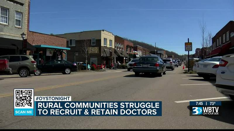 Rural communities struggling to recruit and retain doctors