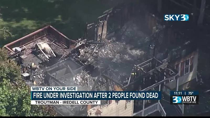 'This is very shocking': At least two people dead in house fire in Iredell County