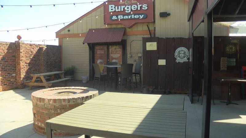 You'll soon be able to enjoy a nice meal on a restaurant's outdoor patio, if you're in South...