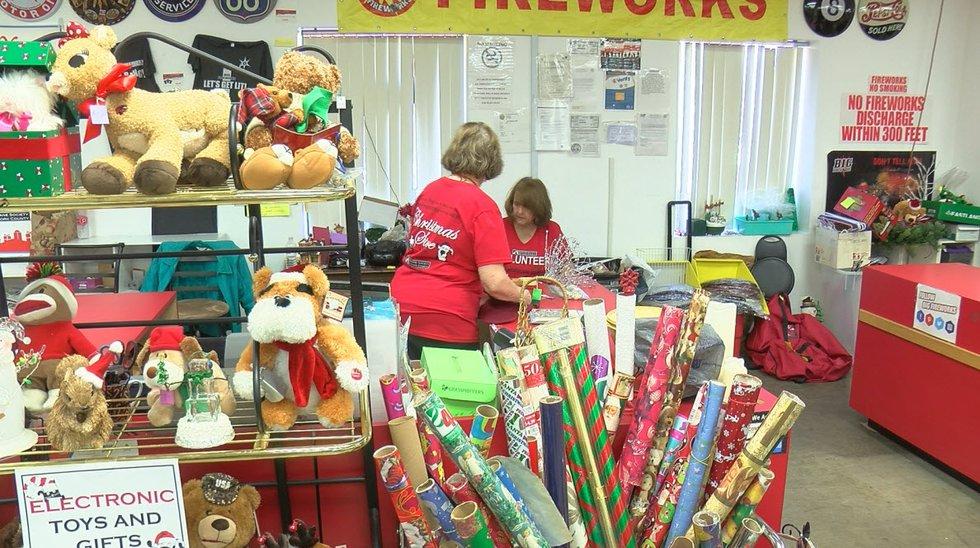 Humane Society of York County's Christmas Store