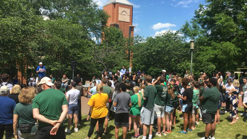 UNCC Students hold 'March for Our Lives' on Campus
