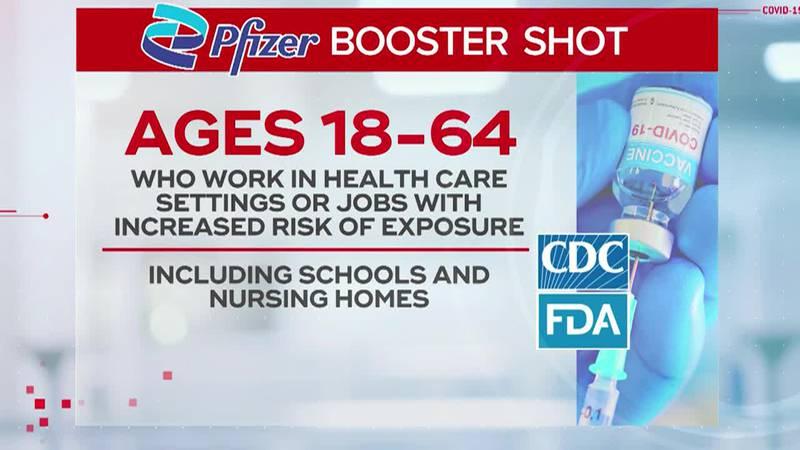 WBTV News Now: Mecklenburg Co. Public Health Director Gibbie Harris talks COVID-19 booster shots
