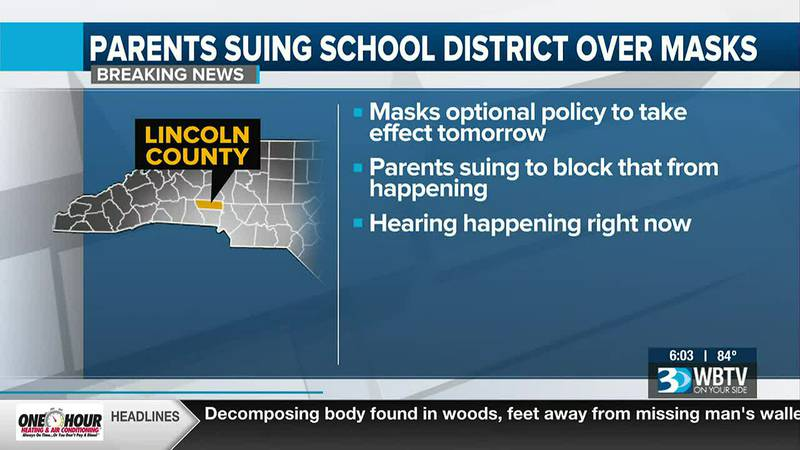 Parents suing Lincoln County Schools for COVID policies