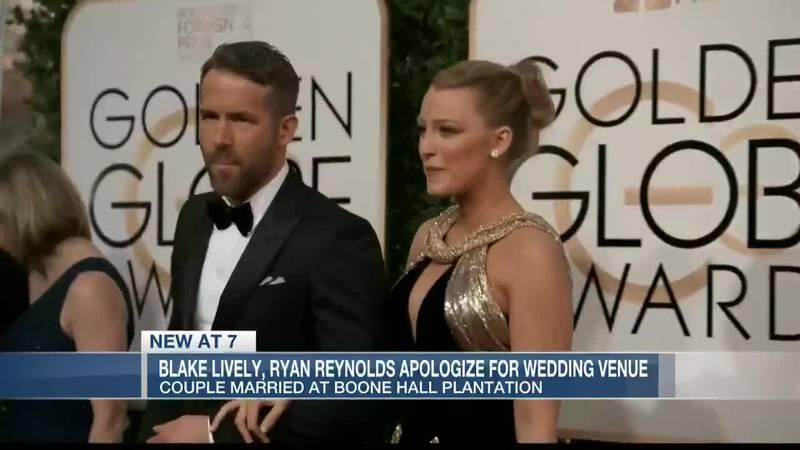 Ryan Reynolds says he regrets having wedding at Boone Hall Plantation