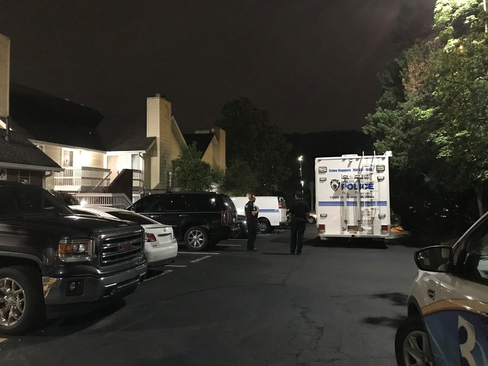 CMPD is investigating after a man was found shot and killed in a hotel room early Saturday...