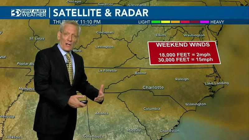 First Alert Forecast Thursday at 11 p.m.