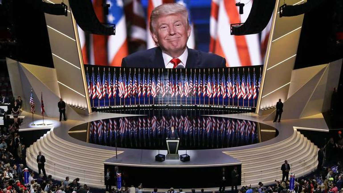 The 2020 Republican National Convention will be held in Charlotte, and President Donald Trump,...