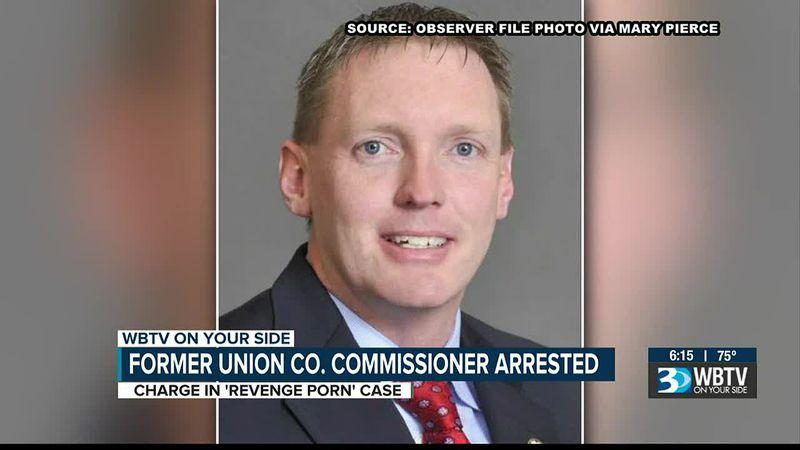 Former Union Co. commissioner arrested on 'revenge porn' charges