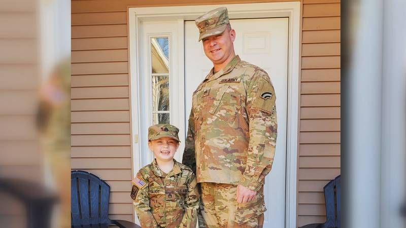 Non-profit gives grants to military families for kids' activities while parent is deployed