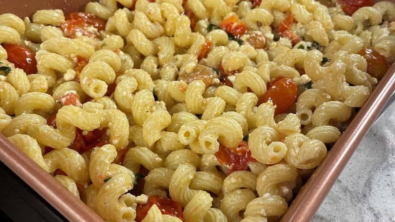 Mary and Jonathan make the viral TikTok recipe