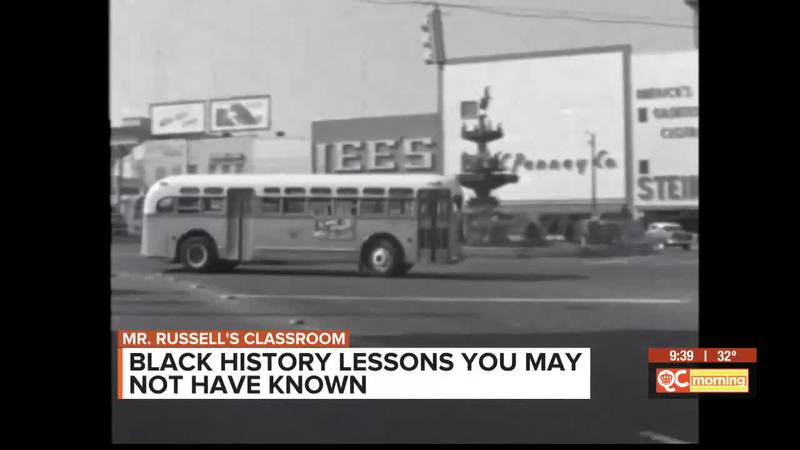 Mr. Russell's Classroom: Black History Lessons You May Not Have Known