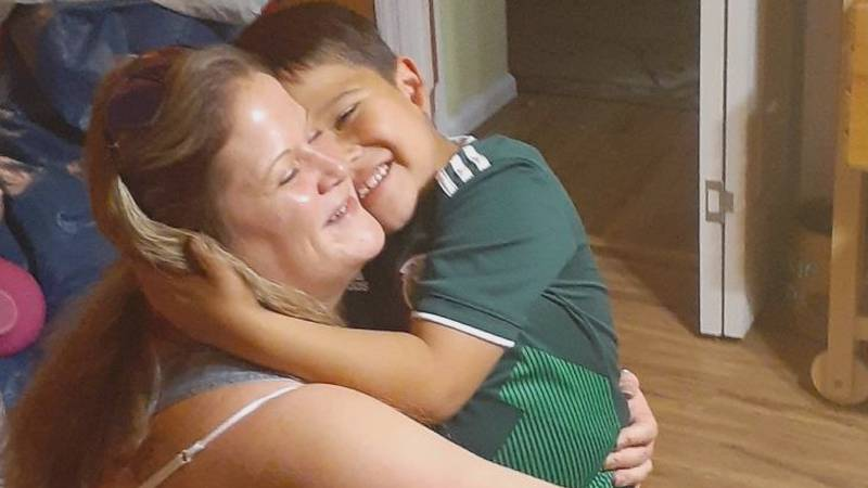 Brandi Birrittier and Santiago Lagunas are planning to host a funeral for their little boy just...