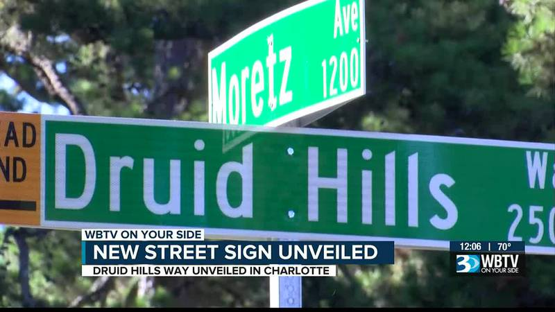 City leaders unveiled the first of many new street names that will replace those previously...