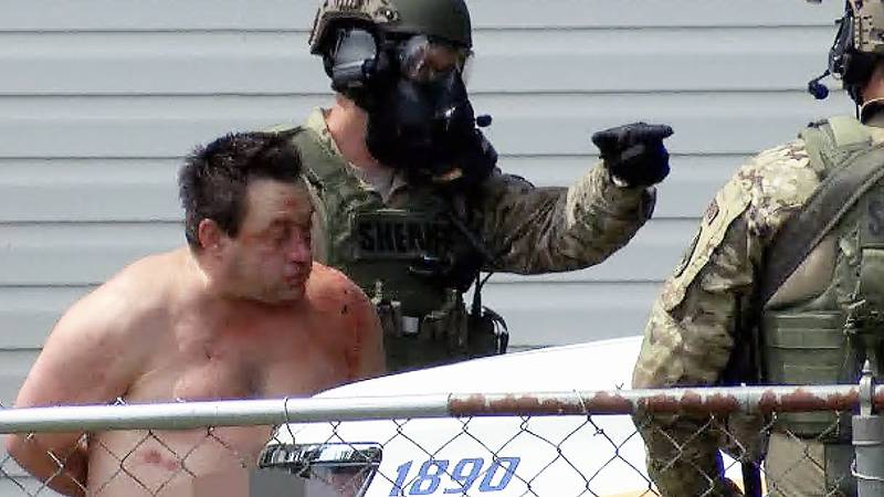Forrest Bowman was arrested shortly after 12:30 p.m. The SWAT team was seen bringing Bowman,...