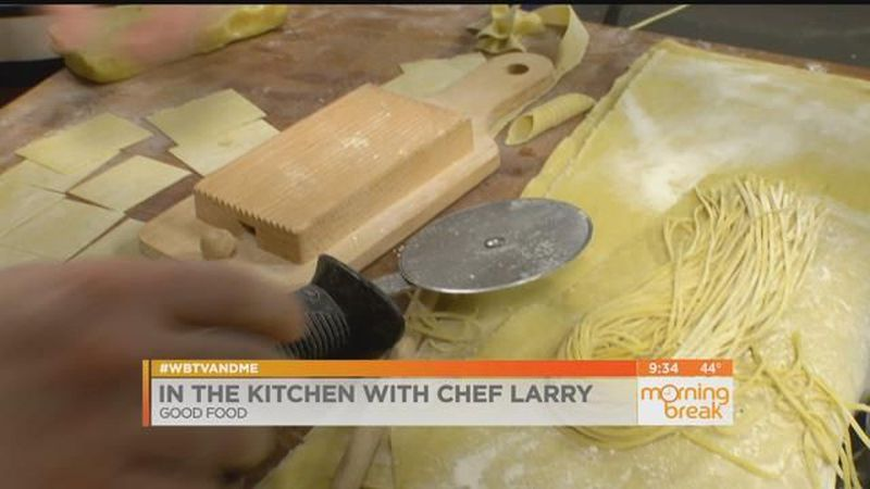 Homemade pasta with Chef Larry from Good Food
