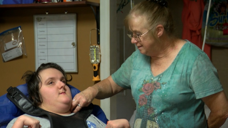 Rita, who is taking care of her three grandkids because of different situations, says she is...