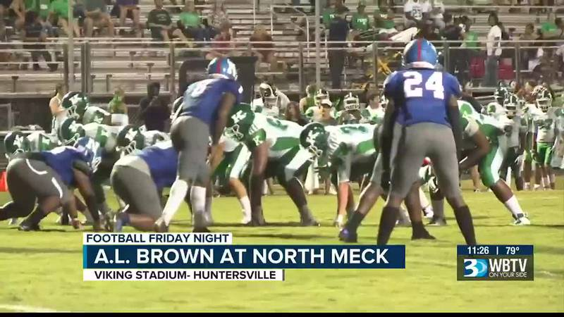 A.L. Brown is making the jump from 3A to 4A this season and they put themselves to the test and...