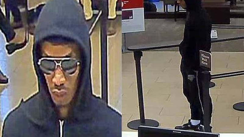 Charlotte-Mecklenburg Police Department is working to identify a burglar who broke into a bank...