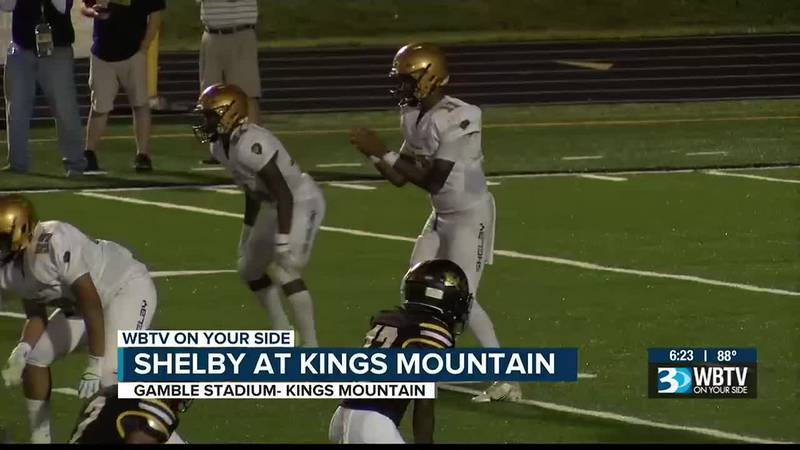 In the Battle of Buffalo Creek, Shelby would get a 37-14 win over rival Kings Mountain to snap...