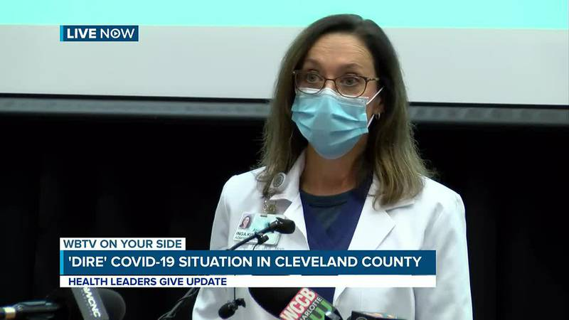 WBTV News Now: 'Dire' situation with COVID-19 leads to joint press conference with leaders in...