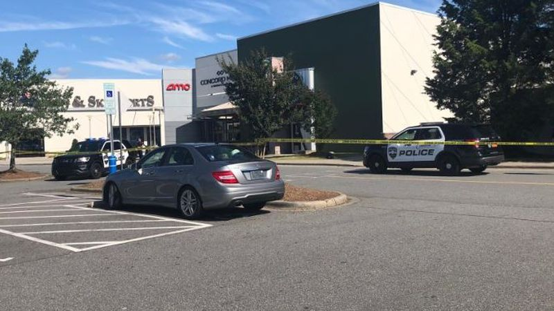 Person in custody following reported shooting outside theater at Concord Mills
