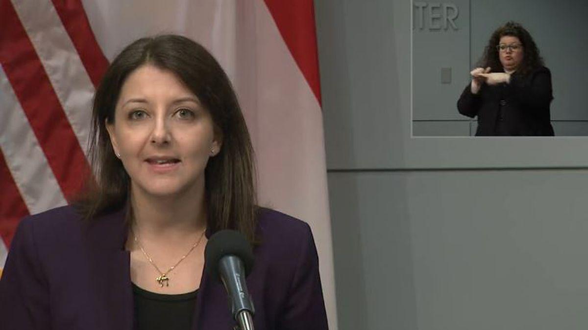 NC Department of Health and Human Services Secretary Dr. Mandy Cohen urges North Carolina...