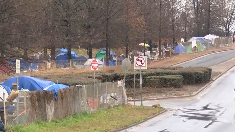 Mecklenburg County officials were provided an update Tuesday on the encampment hotel.