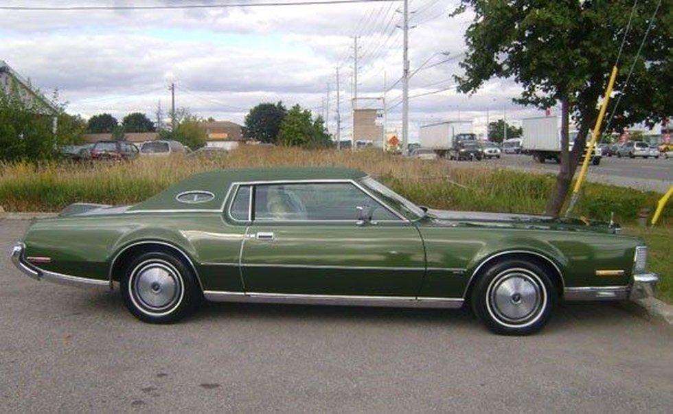 1973 Lincoln Mark IV (Source: FBI)