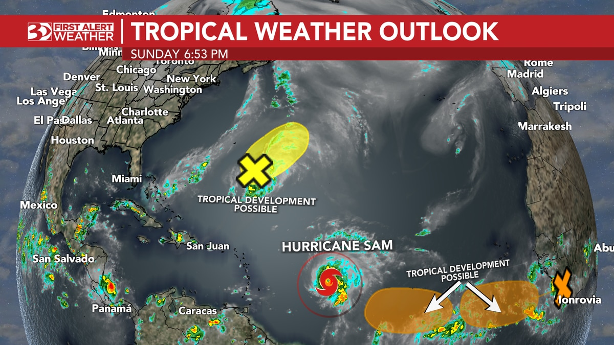 9/26 Tropical Weather Outlook