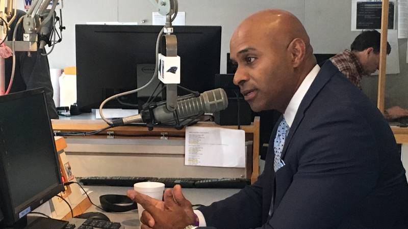 CMPD Chief Kerr Putney on the Pat McCrory radio show Thursday morning