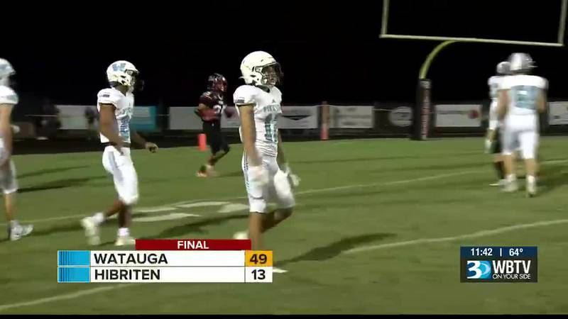 Watauga beats Hibriten to take over first place in the Northwestern 4A/3A conference.