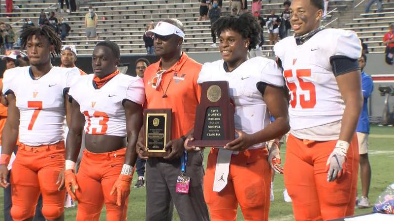 Vance dominated Rolesville 35-14 to win the 4AA state title.  That's the Cougars 2nd straight...