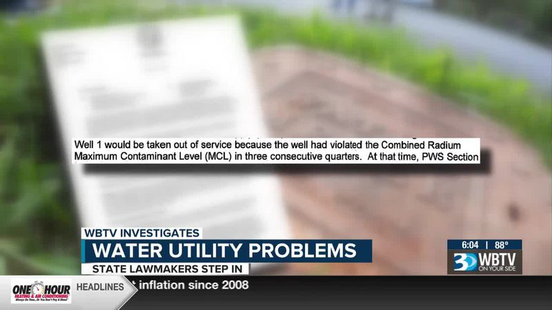 State lawmakers step in after WBTV investigation into water utility problems